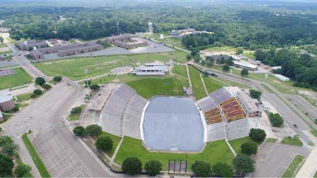 Grambling State University football field to be completed by Aug. 25