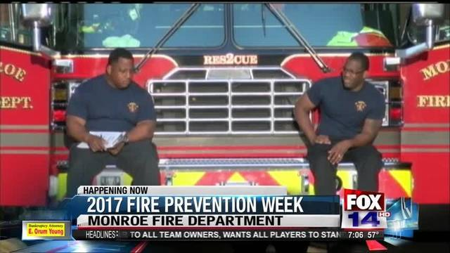 Monroe Fire Department holds citywide fire drill