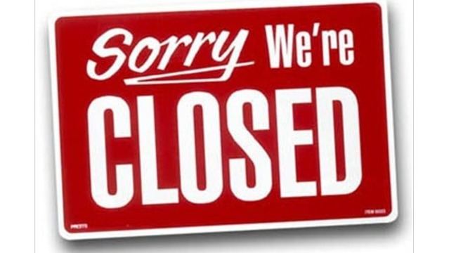 2017 Christmas and New Years holiday closures