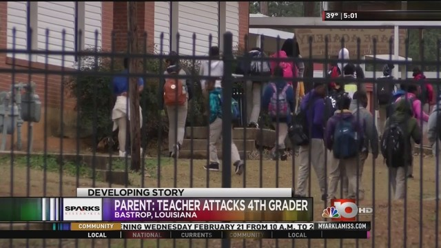 bastrop teacher accused of attacking 4th grader