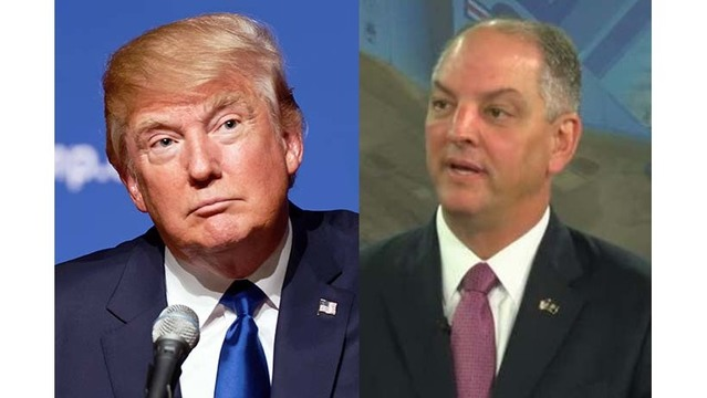 Gov. Edwards to talk infrastructure with Trump