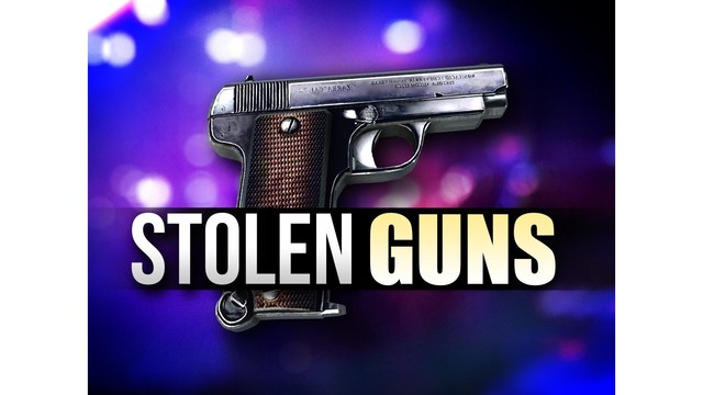 Two Arkansas men arrested for stealing nine guns & other burglary charges