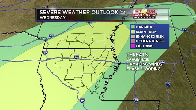 Rain likely across much of Arkansas on Easter Sunday — HOLIDAY FORECAST