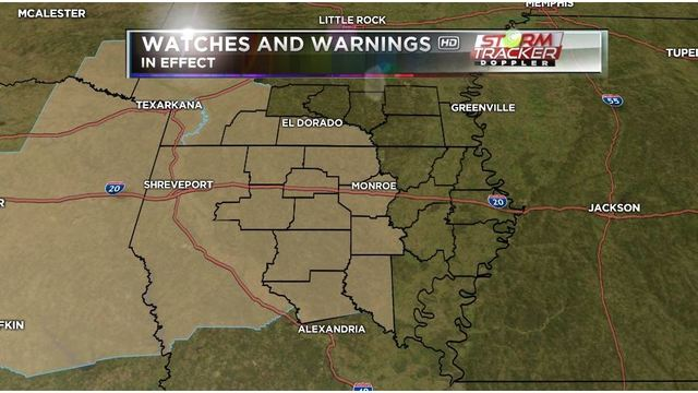 Lake Wind Advisory and Freeze Warning in effect for the ArkLaMiss