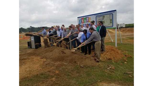 Ruston breaks ground on 185 acre sports complex