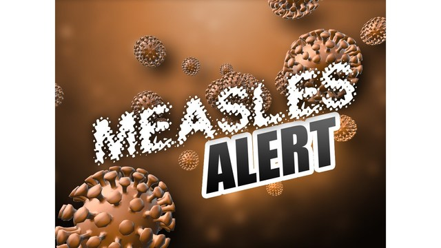LA Health Officials investigating a confirmed case of measles in New Orleans.