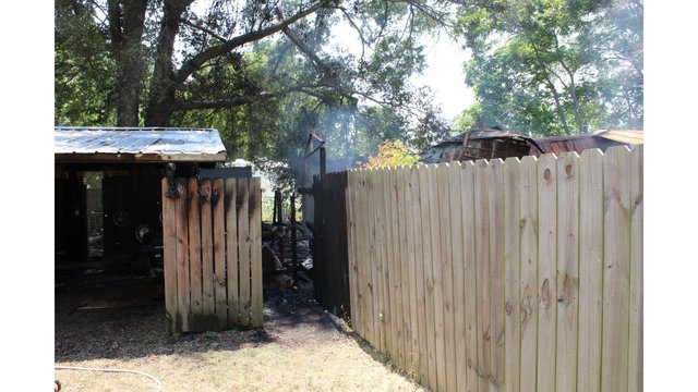 Man issued summons for accidentally causing damage to neighbors property with brush fire
