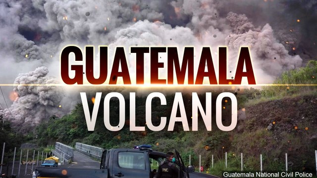 At least 33 killed, 3,100 evacuated after Guatemalan volcano eruption