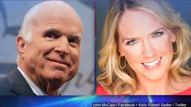 Kelly Sadler joked about McCain's illness. Now she's no longer working at the White House.