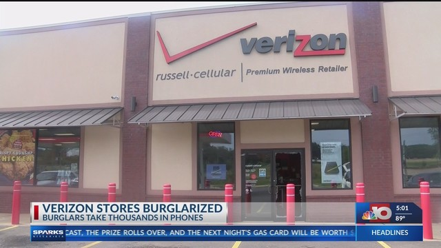 151ee59d129 Verizon stores burglarized