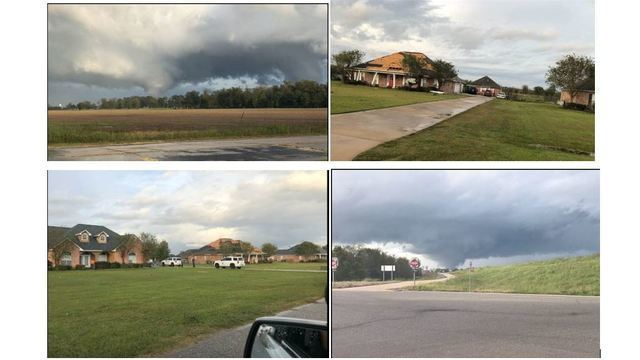 Possible tornado damage reported in Natchitoches Parish