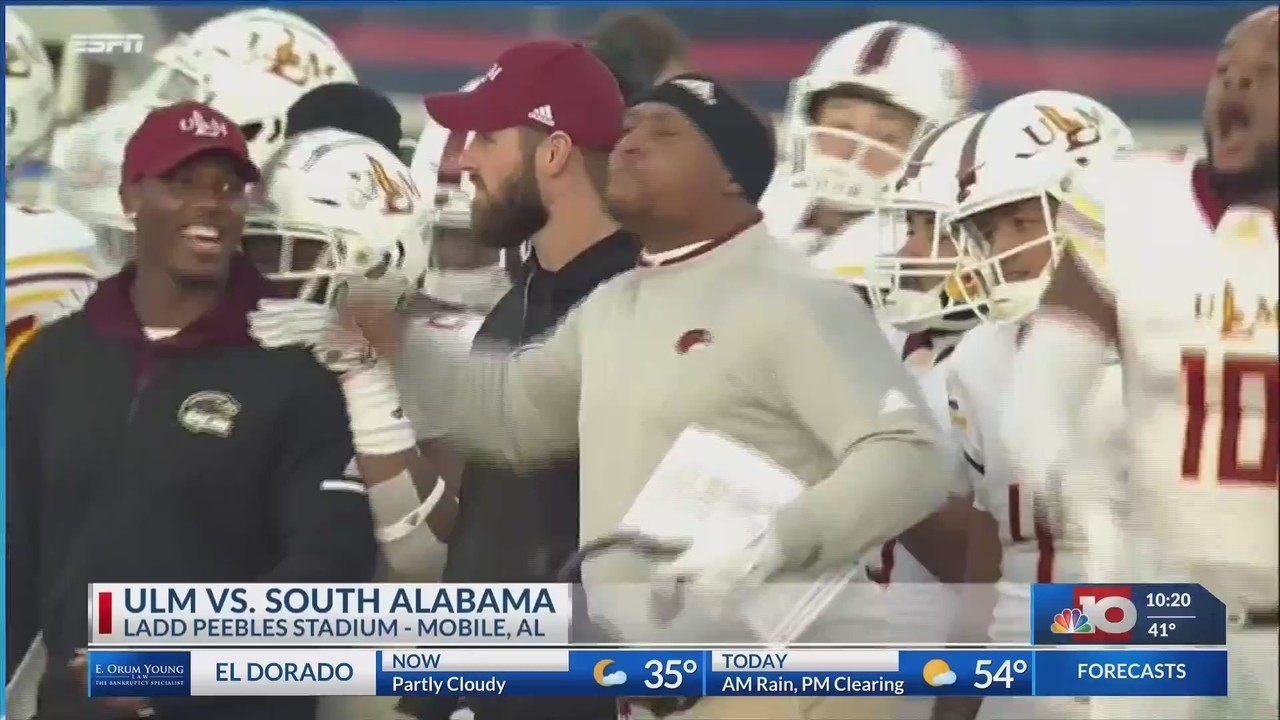 Video Warhawks Earn Bowl Bid With Saturday S Win Over South Alabama