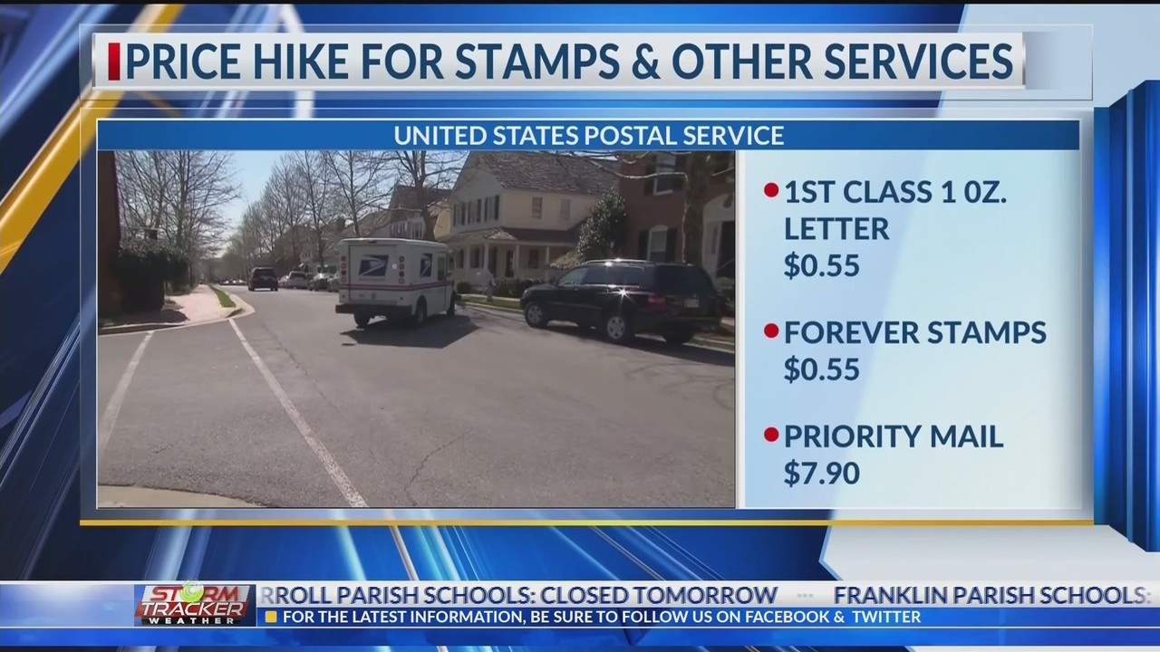Forever stamps to jump to 55 cents, biggest increase in USPS history
