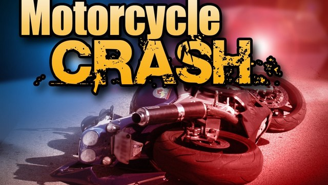 MPD: A motorcyclist crashed into a vehicle on Frontage Road