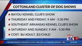 Cottonland Cluster of Dog Shows coming to Monroe this week