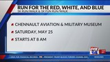 Chennault Aviation & Military Museum gearing up for annual Run for the Red, White, and Blue 5k
